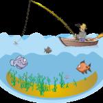 Bulă la pescuit