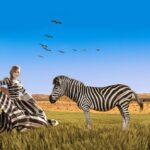Zebra curioasă