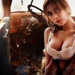 Blonda și șoferul de camion