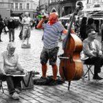 Bulă, turist în Praga